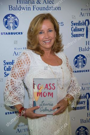 Laurie Gelman attends the East Hampton Library's 13th Annual Authors Night Benefit, in East Hampton, NY