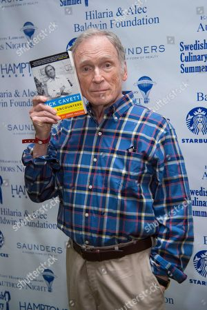Dick Cavett attends the East Hampton Library's 13th Annual Authors Night Benefit, in East Hampton, NY