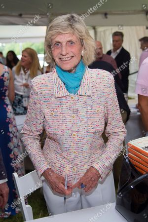 Stock Picture of Jean Kennedy Smith attends the East Hampton Library's 13th Annual Authors Night Benefit, in East Hampton, NY