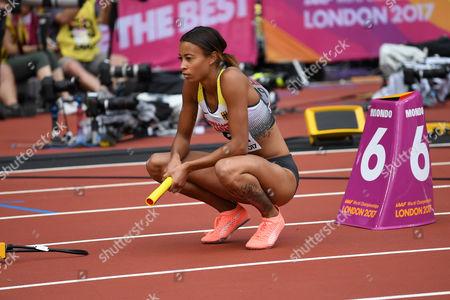 Tatjana Pinto, Deutschland, 4x100m Frauen Staffel