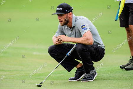 Stock Picture of Golfer Graham DeLaet during the PGA Championship on at Quail Hollow in Charlotte, NC