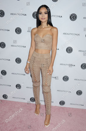 Editorial image of Beautycon Festival, Day 2,  Los Angeles, Arrivals, USA - 13 Aug 2017
