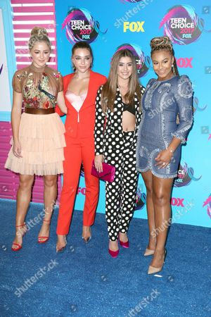 Stock Picture of Chloe Lukasiak, Kendall Vertes, Kalani Hilliker and Nia Sioux