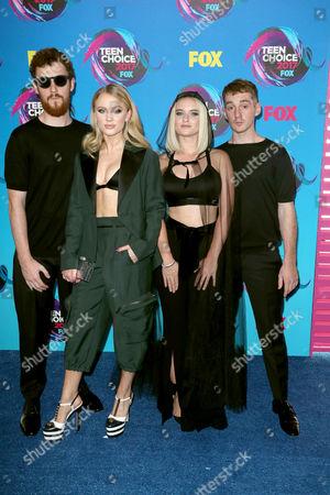 Clean Bandit - Jack Patterson, Zara Larsson, Grace Chatto and Luke Patterson
