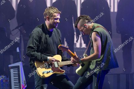 Stock Picture of The Gorillaz - Damon Albarn and Jeff Wootton