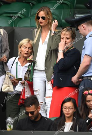 Ester Satorova. Wimbledon 2016 Tennis Championships Wimbledon 8th July 2016 Day Eleven Andy Murray V Tomas Berdych Ester Satorova.