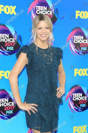 Editorial photo of Teen Choice Awards 2017 - arrivals, Los Angeles, USA - 13 Aug 2017