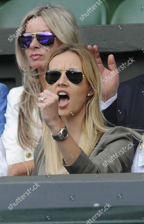 Ester Satorova.  Wimbledon 2016 Tennis Championships Wimbledon 8th July 2016 Day Eleven Andy Murray V Tomas Berdych Ester Satorova .