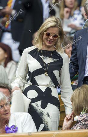 Lady Helen Windsor In The Royal Box At Wimbledon.  Daily Mail Wimbledon 2016 Tennis Championships Wimbledon London Day Thirteen -.