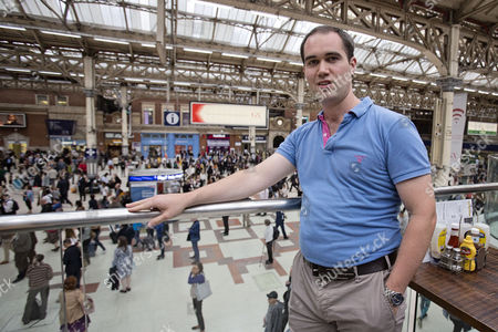 Commuters Strike In Victoria Station After Their Trains Are Constantly Delayed On The Southern Network. News - Oliver Lewis- Protest Over Southern Trains At Victoria Station:.