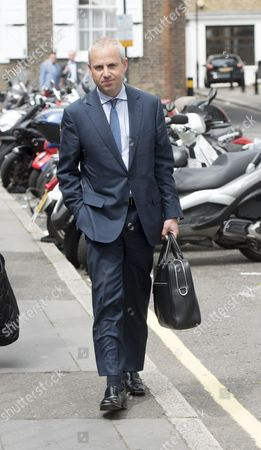 Ocado Boss Tim Steiner Arriving At The High Court In London With Lawyer Fiona Shackleton For The Settlement Hearing In His Divorce Hearing With Wife Belinda Steiner. 26/7/2016 Reporter Tim Lamden.