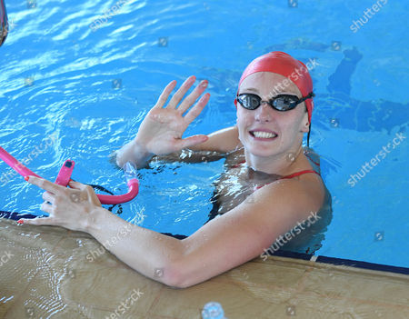 Swimmer Fran Halsall. Behind The Scenes Access To The Team Gb Prep Camp In Belo Horizonte Brazil.Olympics Feature.