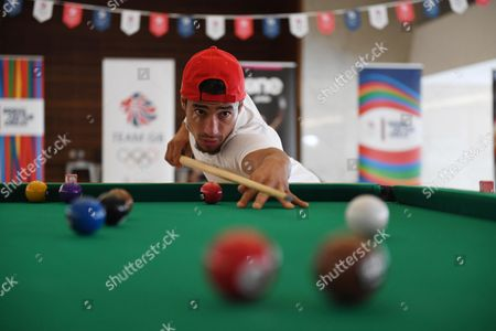 Ashley Mckenzie Plays Pool. Gb Judo Train In Belo Horizonte. For The Rio Olympics Brazil.Olympics Feature.