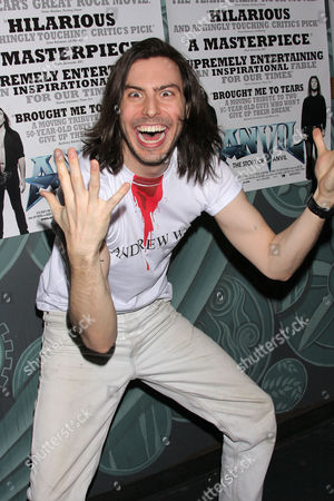 Editorial image of 'Anvil! The Story of Anvil' Film Premiere, New York, America - 06 Apr 2009