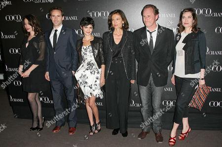 Marie Gillain, Alessandro Nivola, Audrey Tautou, Anne Fontaine (director), Benoit Poelvoorde, Emmanuelle Devos