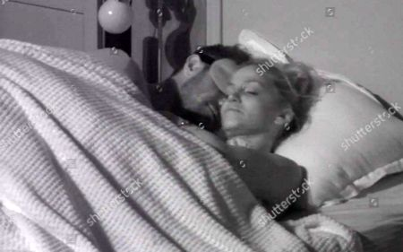 Stock Image of Chad Johnnson in bed with Sarah Harding