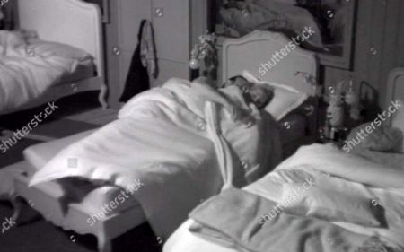 Stock Picture of Chad Johnnson in bed with Sarah Harding