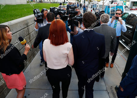 Tree Paine, Austin Swift A brace of photographers back up as Tree Paine, front left, publicist for pop singer Taylor Swift, and Swift's brother, Austin, head into the federal courthouse for day six in the civil trial involving the pop singer, in Denver. While the judge has cleared the pop singer, her mother, Andrea, and the singer's radio liaison are still facing allegations that they set out to have a radio host fired for allegedly groping Swift at a photo op before a concert in Denver in 2013. The eight-person jury is expected to decide on that case as well as consider the assault allegation leveled by the singer