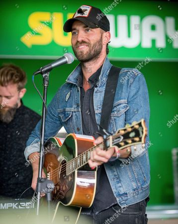 Mondo Cozmo performs an exclusive acoustic set at The Green Room, baked by Subway during the Outside Lands Music Festival in San Francisco, Calif. on