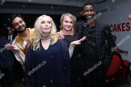 Siddharth Dhananjay, Cathy Moriarty, Mamoudou Athie and Danielle Macdonald
