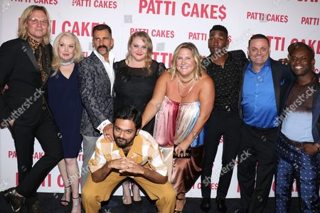 Geremy Jasper (Writer, Director), Cathy Moriarty, Wass Stevens, Danielle Macdonald, Bridget Everett, Mamoudou Athie, Warren Bub, Sahr Ngaujah and Siddharth Dhananjay (in front)