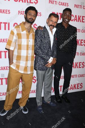 Siddharth Dhananjay, Wass Stevens and Mamoudou Athie