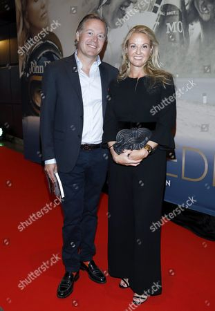Nina Kennedy Peterson with her husband Calle Kennedy
