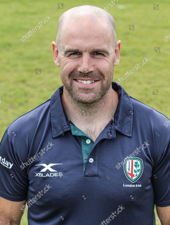 Charlie Hodgson, coach of London Irish during the London Irish Team photo at Hazelwood Stadium - August 14th 2017 in Middlesex, England.