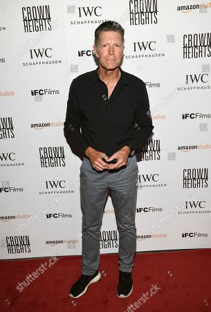 """Stone Phillips attends the premiere of Amazon Studios' and IFC Films', """"Crown Heights"""", at Metrograph, in New York"""