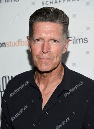 """Stock Photo of Stone Phillips attends the premiere of Amazon Studios' and IFC Films', """"Crown Heights"""", at Metrograph, in New York"""