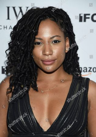 """Actress Natalie Paul attends the premiere of Amazon Studios' and IFC Films', """"Crown Heights"""", at Metrograph, in New York"""