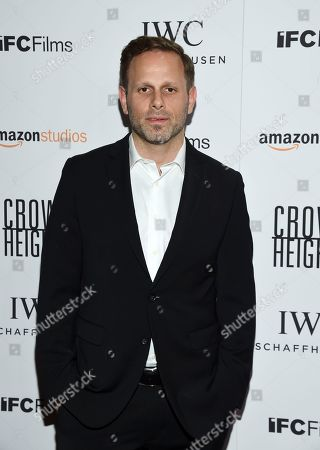 """Stock Picture of Writer and director Matt Ruskin attends the premiere of Amazon Studios' and IFC Films', """"Crown Heights,"""" at Metrograph, in New York"""