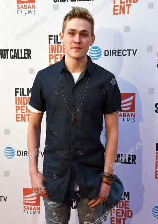 "Editorial picture of LA Special Screening of ""Shot Caller"" - Arrivals, Los Angeles, USA - 15 Aug 2017"