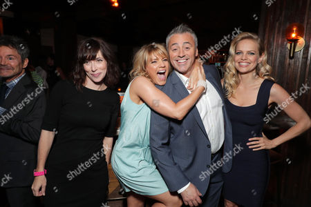 Andrea Rosen, Kathleen Rose Perkins, Matt LeBlanc and Mircea Monroe at SHOWTIME's celebration of the fifth and final season of the award winning comedy EPISODES, West Hollywood, CA, America - 15 August 2017