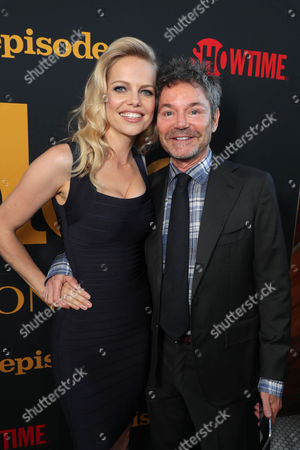 Mircea Monroe and Jeffrey Klarik, Executive Producer, at SHOWTIME's celebration of the fifth and final season of the award winning comedy EPISODES, West Hollywood, CA, America - 15 August 2017