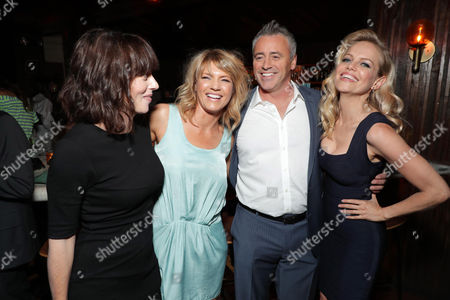 Stock Picture of Andrea Rosen, Kathleen Rose Perkins, Matt LeBlanc and Mircea Monroe at SHOWTIME's celebration of the fifth and final season of the award winning comedy EPISODES, West Hollywood, CA, America - 15 August 2017