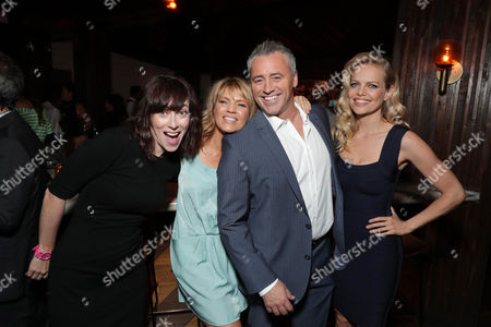 Stock Image of Andrea Rosen, Kathleen Rose Perkins, Matt LeBlanc and Mircea Monroe at SHOWTIME's celebration of the fifth and final season of the award winning comedy EPISODES, West Hollywood, CA, America - 15 August 2017