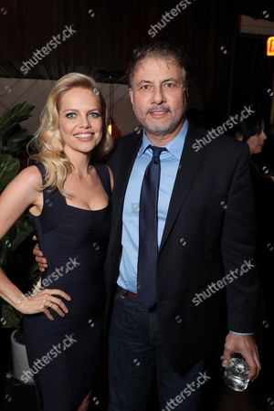 Mircea Monroe and Gary Levine, President of Programming for Showtime Networks, at SHOWTIME's celebration of the fifth and final season of the award winning comedy EPISODES, West Hollywood, CA, America - 15 August 2017