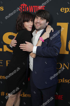 Andrea Rosen and John Gemberling at SHOWTIME's celebration of the fifth and final season of the award winning comedy EPISODES, West Hollywood, CA, America - 15 August 2017