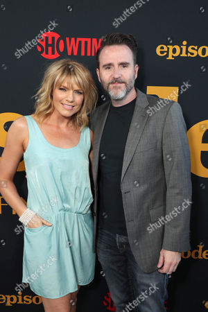 Kathleen Rose Perkins and Christopher Moynihan at SHOWTIME's celebration of the fifth and final season of the award winning comedy EPISODES, West Hollywood, CA, America - 15 August 2017