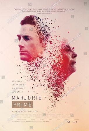 Marjorie Prime (2017) Poster Art. Jon Hamm, Lois Smith
