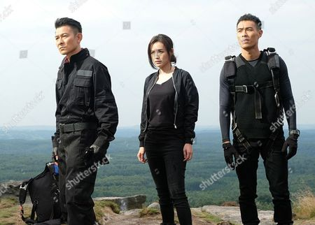 Stock Image of Andy Lau, Qi Shu, Tony Yo-ning Yang