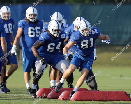 Editorial photo of Colts Camp, Indianapolis, USA - 16 Aug 2017