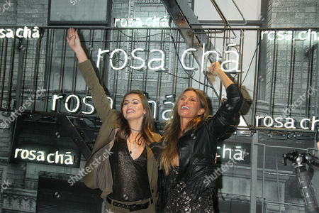 Editorial picture of Rosa Cha Summer Collection Launch Event, Sao Paulo, Rosa Cha Store, Brazil - 16 Aug 2017