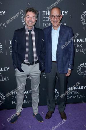Stock Picture of David Crane and Jeffrey Klarik