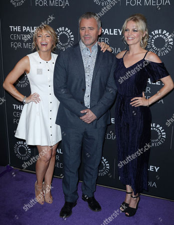 Kathleen Rose Perkins, Matt LeBlanc and Mircea Monroe