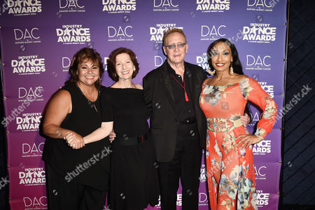 Editorial image of Industry Dance Awards and Benefit Show, Backstage, Los Angeles, USA - 16 Aug 2017