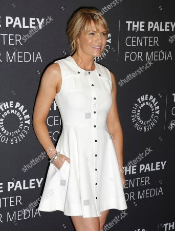 """Kathleen Rose Perkins arrives at a premiere for the final season of """"Episodes"""" at The Paley Center for Media, in Beverly Hills, Calif"""