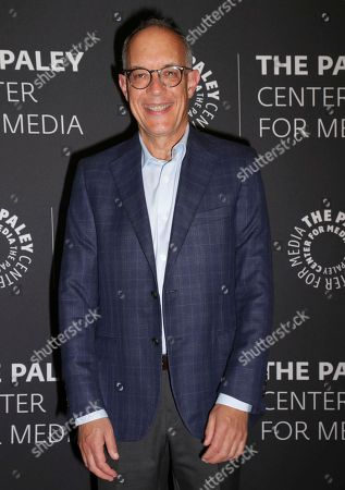 """Creator/executive producer David Crane arrives at a premiere for the final season of """"Episodes"""" at The Paley Center for Media, in Beverly Hills, Calif"""
