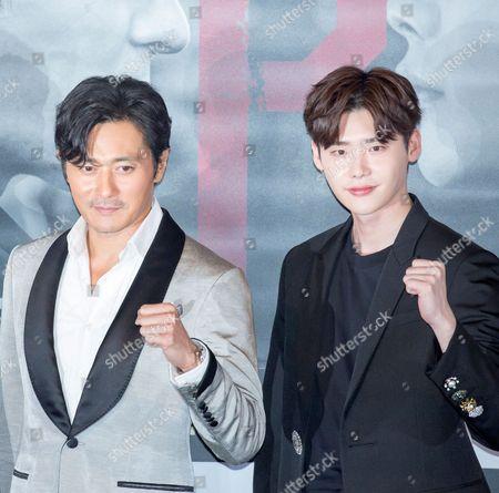 Jang Dong-gun and Lee Jong-suk